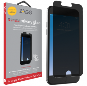 Zagg InvisibleShield Glass Plus Privacy til iPhone 6/6S/7/8 Plus