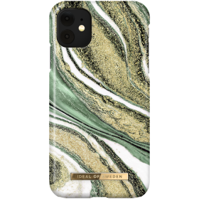 iDeal of Sweden iDeal Fashion Deksel for iPhone XR/11 - Cosmic Green Swirl