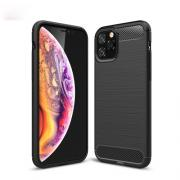 Taltech Deksel i Kulfiber-design for iPhone 11 Pro - Svart