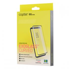 Copter Copter Exoglass Curved Skjermbeskyttelse for Samsung Galaxy S10 Plus