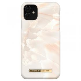 iDeal of Sweden iDeal Fashion Deksel for iPhone 11/XR - Rose Pearl Marble