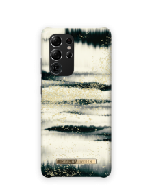 iDeal of Sweden iDeal Fashion Case for Samsung Galaxy S21 Ultra - Golden Tie Dye