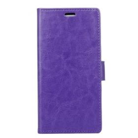 Taltech Crazy Horse Lommeboketui for Samsung Galaxy Xcover 4/4S - lilla