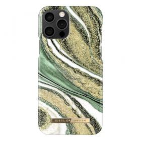 iDeal of Sweden IDeal Fashion iPhone 12/12 Pro deksel - Cosmic Green Swirl