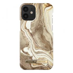 iDeal of Sweden IDeal Fashion iPhone 12 Mini deksel- Golden Sand Marble