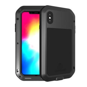 Taltech LOVE MEI Extra Solid Deksel for iPhone XS Max - Svart