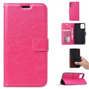 Taltech Crazy Horse Lommeboketui for Samsung Galaxy A41 - Rosa