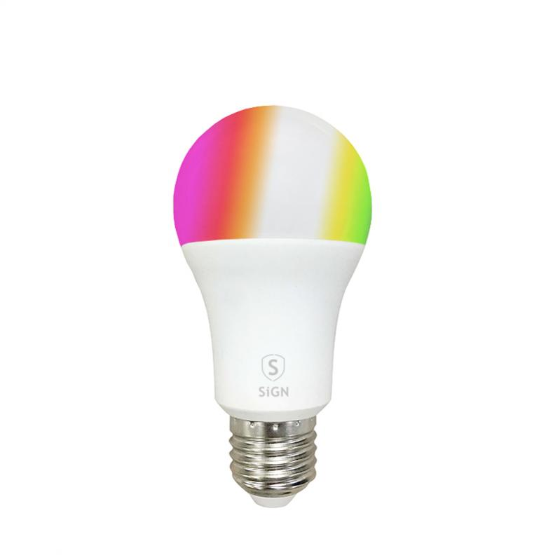 SiGN SiGN Smart Home Dimmbar RGB LED-lampe A60 9W E27