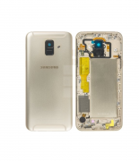 Samsung Galaxy A6 Batteriluke - Gull