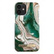 iDeal of Sweden IDeal Fashion iPhone 12 Mini deksel- Golden Jade Marble