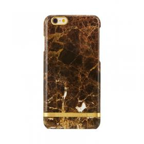 Richmond Richmond & Finch Deksel for iPhone 6/6S - Brown Marble Glossy
