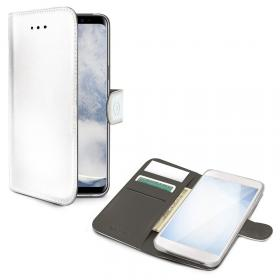 Celly Celly Wallet Case for Samsung Galaxy S10 Plus - Vit