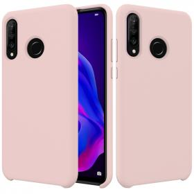 SiGN SiGN Liquid Silicone Deksel for Huawei P30 Lite - Rosa