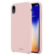 SiGN SiGN Liquid Silicone Case for iPhone XR - Rosa