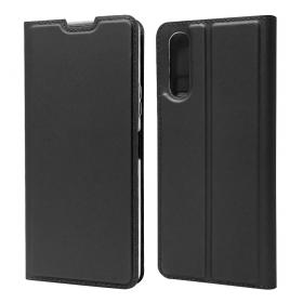 Taltech Business Etui for Sony Xperia 10 II - Svart (OUTLET-VARE)