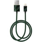 iDeal of Sweden iDeal Fashion Kabel Lightning 1m - Emerald Satin