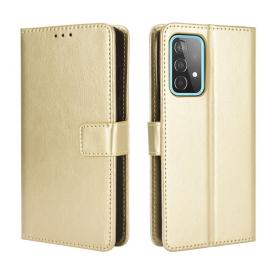Taltech Crazy Horse Texture Leather Etui for Galaxy A52 4G/5G & A52s 5G - Gull