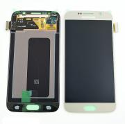 Samsung Samsung Galaxy S6 Skjerm med LCD-display, Gull - Original