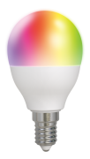 DELTACO Deltaco Smart Home RGB LED-lampe E14, WiFI Dimmbar