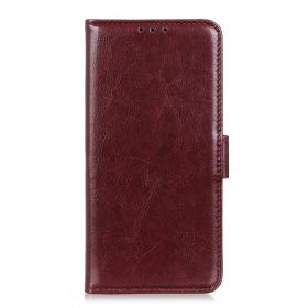 Taltech Crazy Horse Lommeboketui for Sony Xperia 5 - Brun