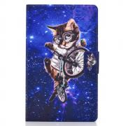 "Taltech Etui for Galaxy Tab A7 10.4"" 2020 - Cycling Cat"