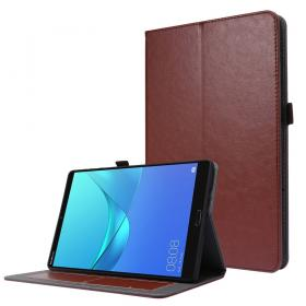 Taltech Crazy Horse Etui for Huawei MatePad T10s - Brun
