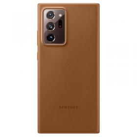 Samsung Samsung Leather Cover for Samsung Galaxy Note 20 Ultra - Brun