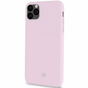 Celly Celly Feeling Silikondeksel for iPhone 11 Pro Max - Rosa