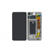 Samsung Galaxy S10e LCD + Touch + Digitizer - Hvit