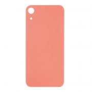 iPhone XR Batteriluke - Bakside Glass - Rosa