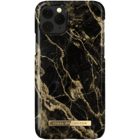 iDeal of Sweden iDeal Fashion Deksel for iPhone X/XS/11 Pro - Golden Smoke Marble