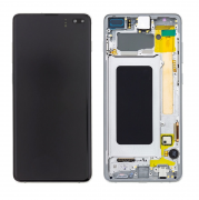 Samsung Galaxy S10 Plus AMOLED + Touch + Digitizer - Hvit