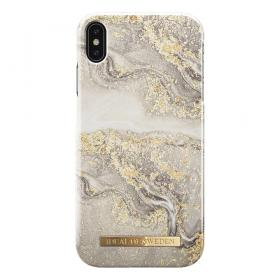 iDeal of Sweden iDeal Fashion Case til iPhone XS Max - Sparkle Greige Marble