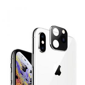 Taltech iPhone 11 Pro Look-alike Kameralinse for iPhone X/XS - Sølv