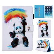 Malende Panda Etui for iPad 9.7, Air, Air 2