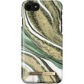 iDeal of Sweden iDeal Fashion Deksel for iPhone 6/6S/7/8/SE - Cosmic Green Swirl
