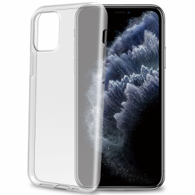 Celly Celly Gelskin Deksel for iPhone 11 Pro Max - Transparent