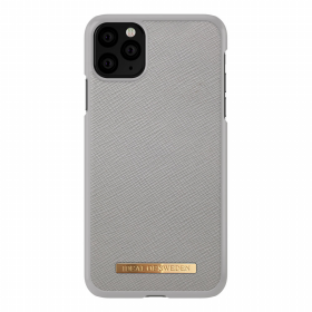 iDeal of Sweden iDeal Fashion Saffiano Deksel for iPhone 11 Pro Max - Grey