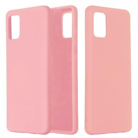 SiGN SiGN Liquid Silicone Deksel for Samsung Galaxy A51 - Rosa