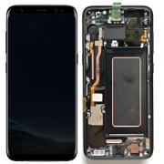 Samsung Galaxy S8 Plus Skärm med LCD-display - Svart - Original