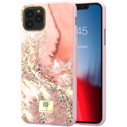 Richmond RF by Richmond & Finch Deksel for iPhone 11 Pro - Pink Marble Gold