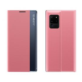 Taltech View Window Etui for Samsung Galaxy A02s - Rosa