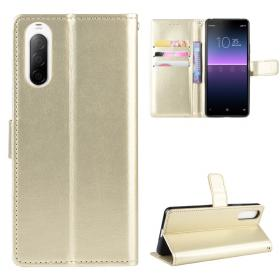 Taltech Crazy Horse Lommeboketui for Sony Xperia 10 II - Gull
