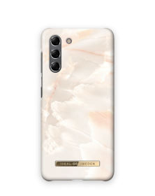 iDeal of Sweden iDeal Fashion Case for Samsung Galaxy S21 - Rose Pearl Marble