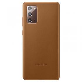 Samsung Samsung Leather Cover for Samsung Galaxy Note 20 - Brun