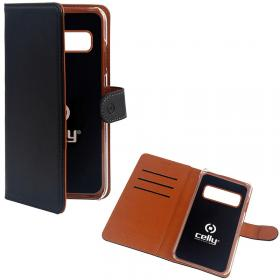 Celly Celly Wallet Lommeboketui for Samsung Galaxy S20 Ultra - Svart
