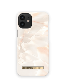 iDeal of Sweden iDeal Fashion Deksel for iPhone 12 Mini - Rose Pearl Marble