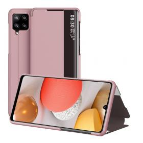 Taltech Flip Cover for Samsung Galaxy A42 - Roségull