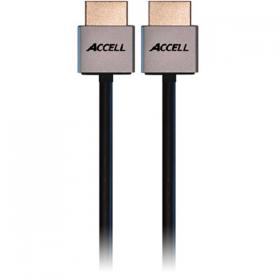 ACCELL ACCELL ProULTRA Thin, HDMI-kabel, HDMI High Speed, Ethernet, 19-pin ha-ha, 4