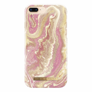 iDeal of Sweden iDeal Fashion Case for iPhone 6-6S-7-8 Plus - Golden Blush Marble